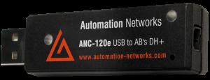 ANC-120e: USB a DH + RSLINX PLC